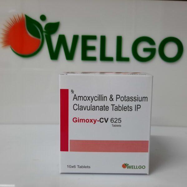 Amoxicillin 500mg + Potassium Clavulanate 125mg tablets