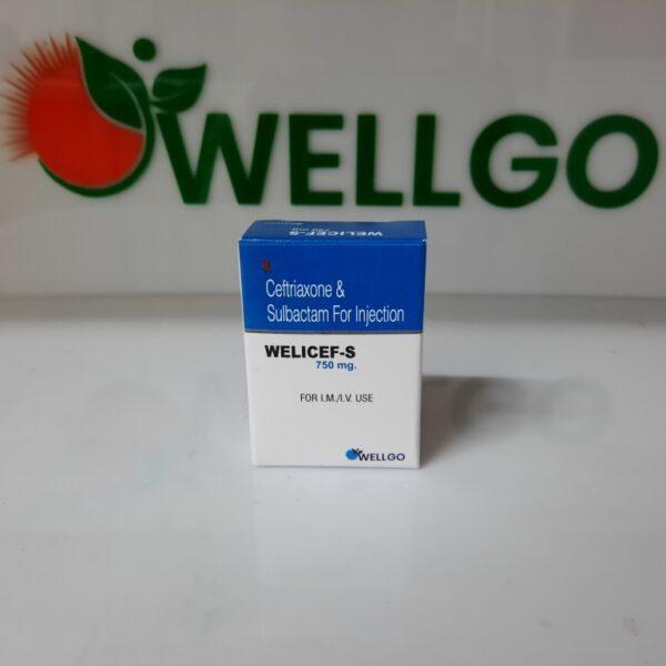 Ceftriaxone 500mg+ Sulbactam Sodium 250mg INJECTION PCD