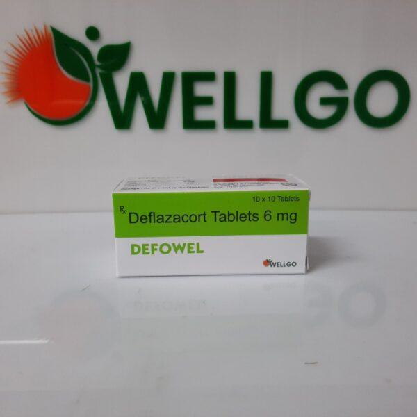 Deflazacort 6mg tablets