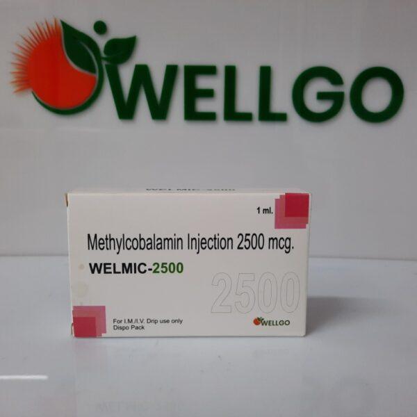 Methylcobalamin 2500 Mcg DISPO PACK PCD