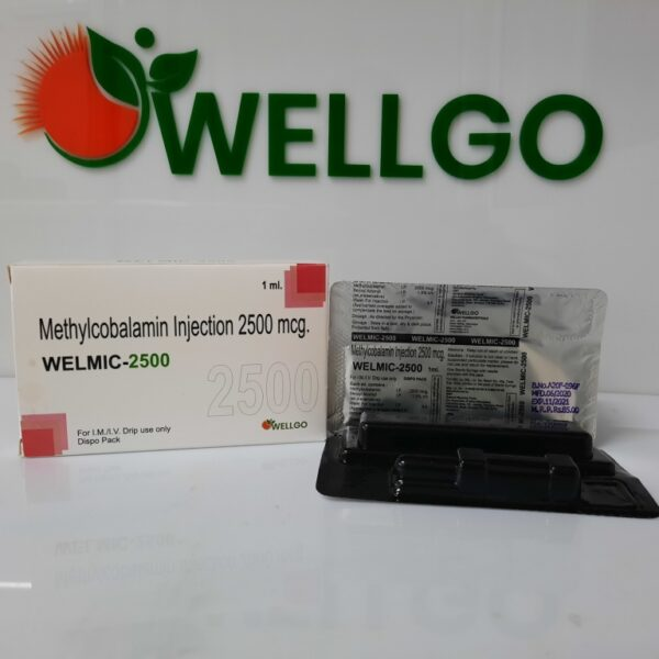 Methylcobalamin 2500 Mcg INJECTION