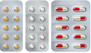 Primary packing pharma blister