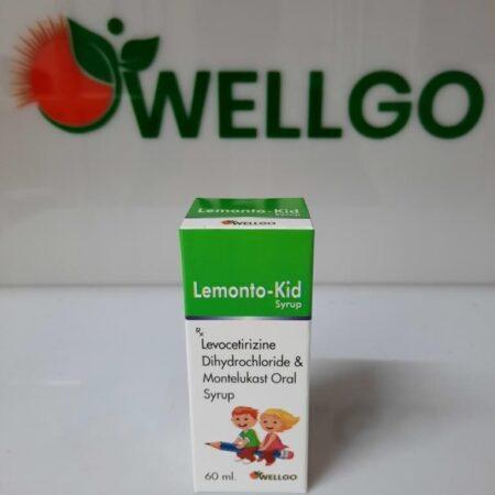 Levocetirizine 2.5mg+ Montelukast 4mg (60ml) PCD