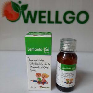 Levocetirizine Montelukast pediatric syrup