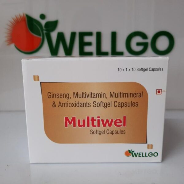 Multivitamin + Multimineral Softgel capsules PCD