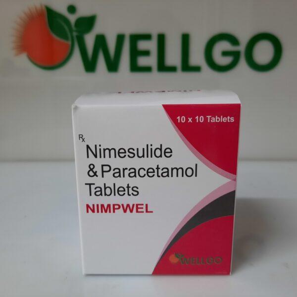Nimesulide 100Mg + Paracetamol 325Mg Tablets