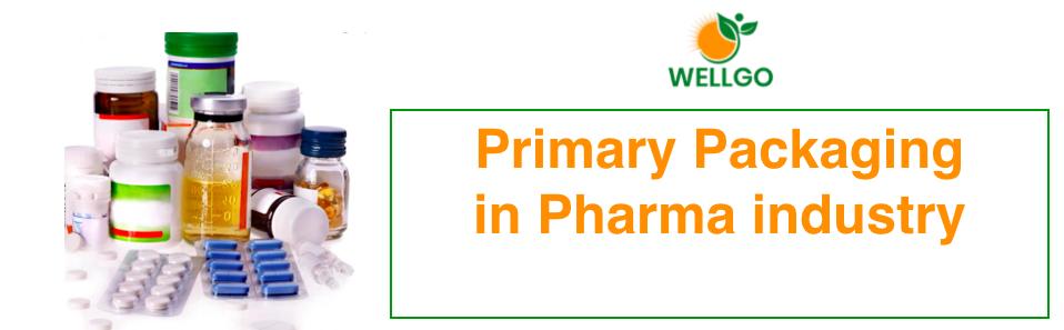 Primary packaging pharma industry