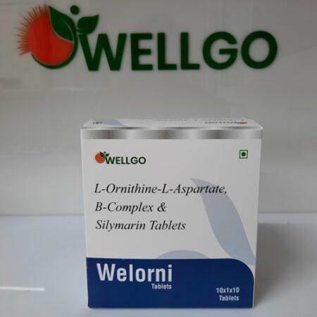 L-ornithine+l-aspartate 250 Mg+b-complex & Silymarin tablets