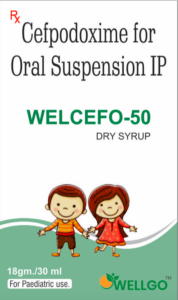 Cefpodoxime 50 Mg Dry syrup