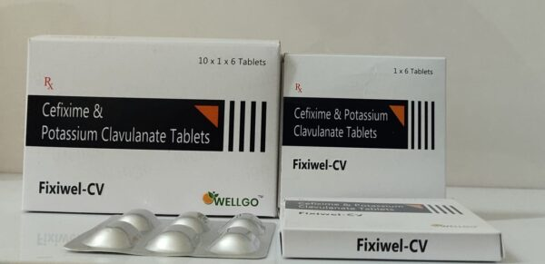 Cefixime 200mg + Potassium Clavulanate 125mg
