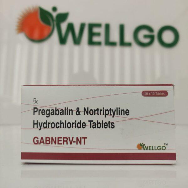 Pregabalin 75 Mg + Notrypline 10 Mg
